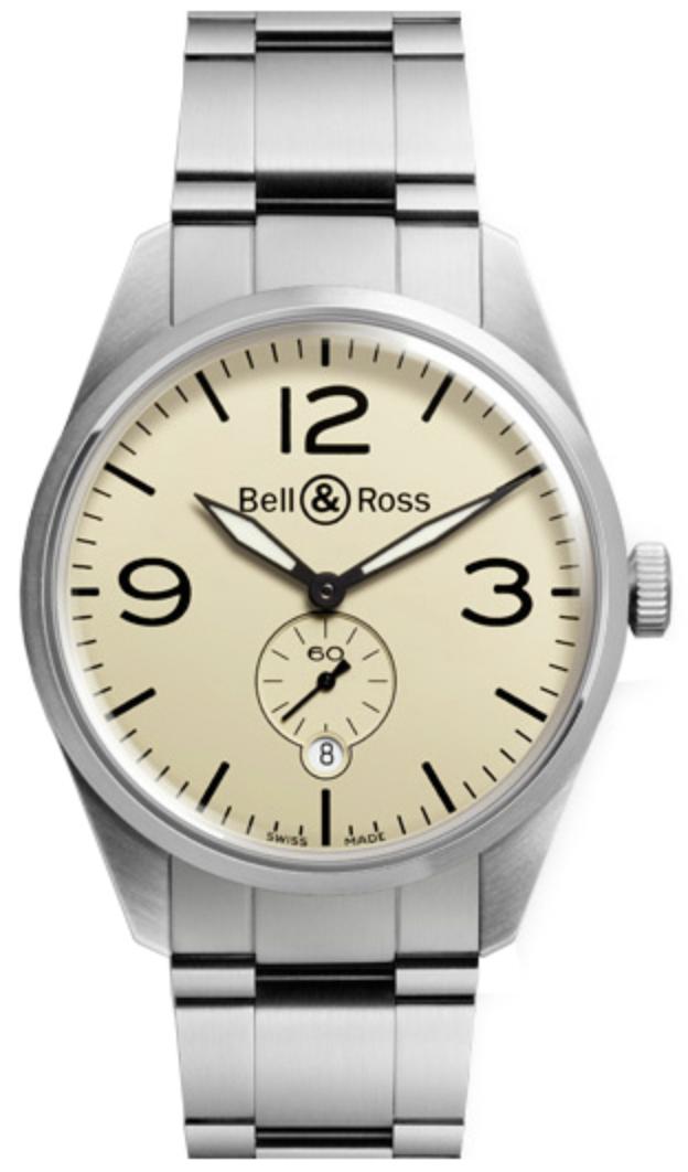 Bell & Ross Original Automatic Beige Dial Men's 41mm Watch BRV123-BEI-ST/SST - watch picture 1