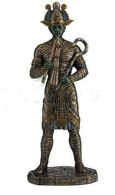 "10.5"" Osiris Egyptian God of Afterlife Statue Sculpture Egypt Home Decor Figure"