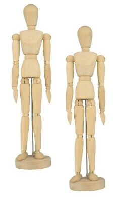 Set of 2 Human Artist Drawing Models 12
