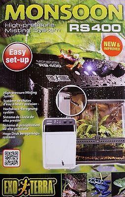 Exo Terra Monsoon RS 400 Beregnungsanlage Befeuchtung Sprühanlage Inkubator
