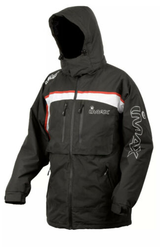 Imax Ocean Thermo Jacket Grey Red L Angelbekleidung Angeljacke Thermojacke