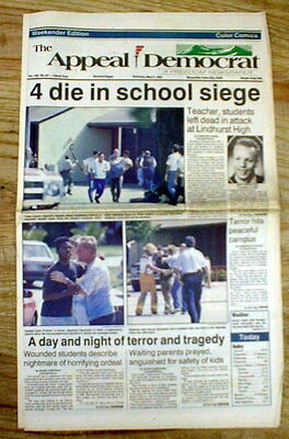 Best 1992 newspaper LINDHURST HIGH SCHOOL spree killings OLIVEHURST