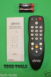 how to set up comcast remote