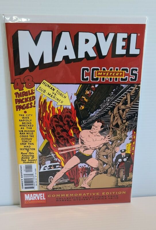 Marvel Mystery Comics Commemorative Edition - Collection of issues #8-10