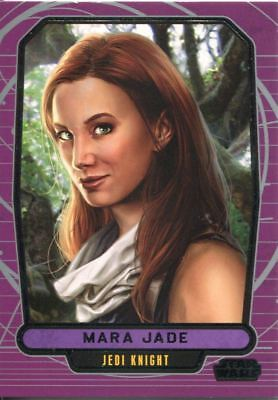 Star Wars Galactic Files Series 1 Base Card #203 Mara Jade