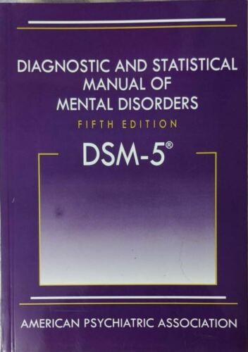 Diagnostic and Statistical Manual of Mental Disorders DSM-5 (HARDCOVER)