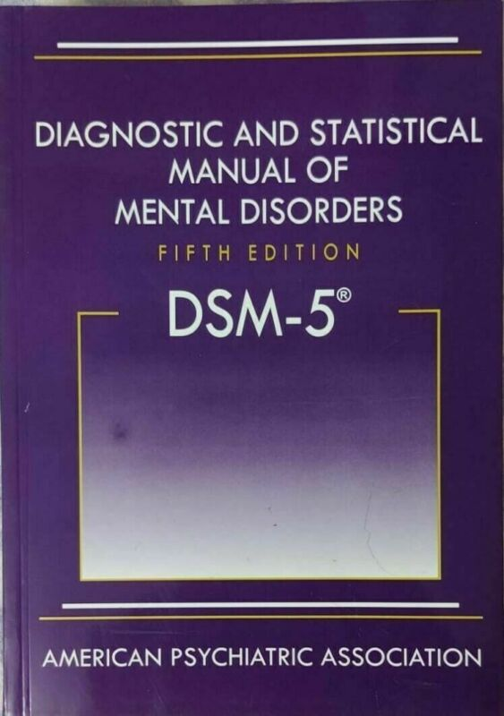 Diagnostic and Statistical Manual of Mental Disorders 5th Ed. DSM-5 (Hardcover)