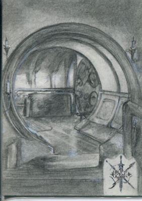 The Hobbit Battle Of Five Armies Sketch Card By D Jackson