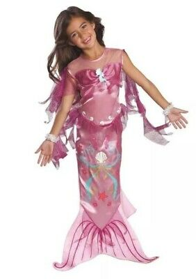 Rubies Toddler Girl's Size 2T -4T Years The Little Pink Mermaid Costume Dress - Mermaid Costume 2t