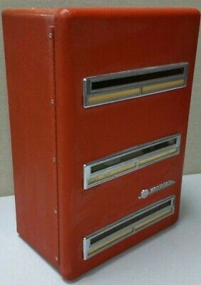 Notifier Antique Facp Md4-8 12vdc Surface Red