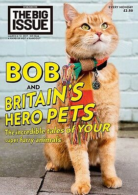Big Issue Magazine 1246 (06 Mar 2017) ~ Bob and Britain's Hero Pets
