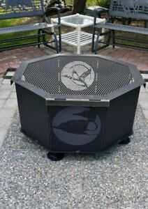 Custom Fire Pits with Grills