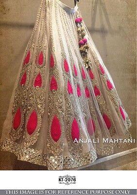 Wedding wear Lehenga Designer Indian Latest saree Bollywood lengha choli set new