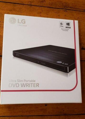 LG 24x Write/24x Rewrite/24x Read CD 8x Write DVD External USB 2.0 DVD-Writer Drive Multi GP60NB50