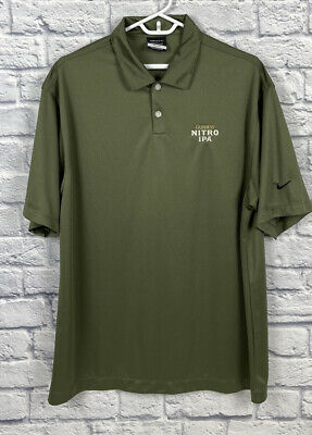 Nike Guinness Beer Polo Shirt Size L NITRO IPA Golf Ale Stout