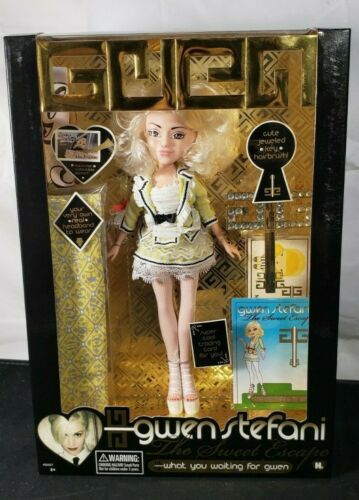 Gwen Stefani Fashion Doll Sweet Escape What Are You Waiting For LE 2007 NEW