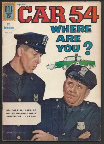 1962 Dell Four Color FC #1257 Car 54 Where Are You? Fine