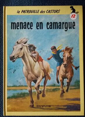 La Patrouille des Castors 12 reed Menace en Camargue MiTacq Dupuis