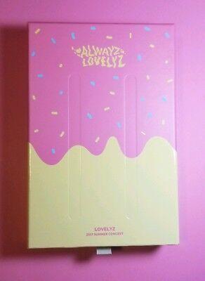 Lovelyz Alwayz 2017 Summer Concert Blu-Ray (NO PHOTOCARD)