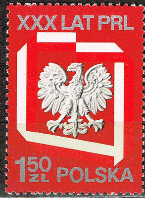 'Poland Country Coat of Arm Eagle Flag stamp 19&& MNH