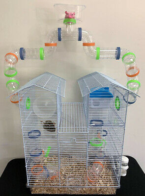 5-Level Top Play Zone Dwarf Hamster Habitat Rodent Gerbil Ra