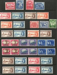 1946-Victory-complete-Omnibus-Issue-superb-unmounted-mint-164-stamps