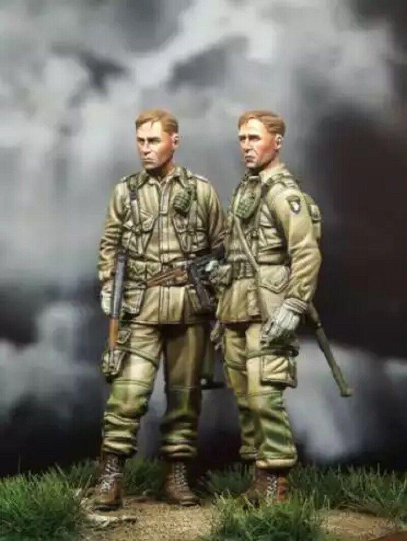 1//35 Resin Figure Model Kit US Soldier WWII WW2 Unpainted Unassambled
