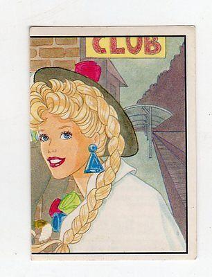 figurina - BARBIE 1989 PANINI - NUMERO 111