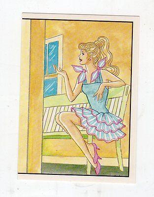 figurina - BARBIE 1989 PANINI - NUMERO 70