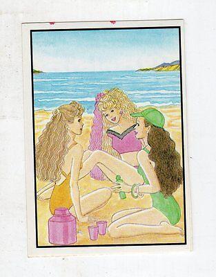 figurina - BARBIE 1989 PANINI - NUMERO 64