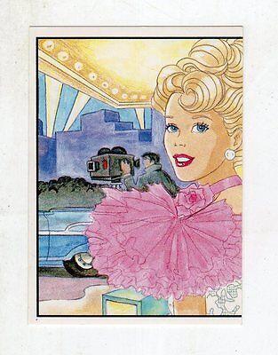 figurina - BARBIE 1989 PANINI - NUMERO 22