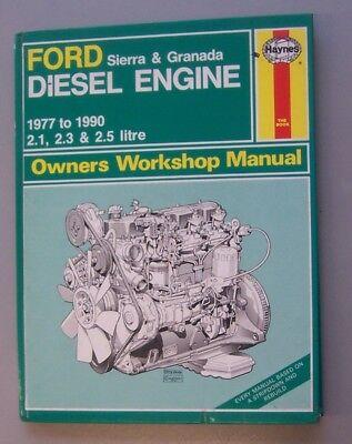 Ford Sierra & Granada Diesel Engine Haynes Workshop Manual