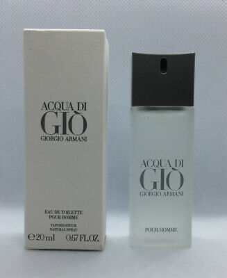 Acqua Di Gio by Giorgio Armani Men's Cologne 20 ml 0.67 oz EDT NEW Free Shipping