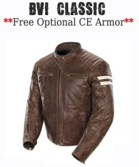 LEATHER MOTORCYLE JACKETS-**PREMIUM TOP GRAIN LEATHER**
