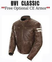 LEATHER MOTORCYLE JACKETS-**PREMIUM TOP GRAIN LEATHER** $199-$239 Sydney City Inner Sydney Preview