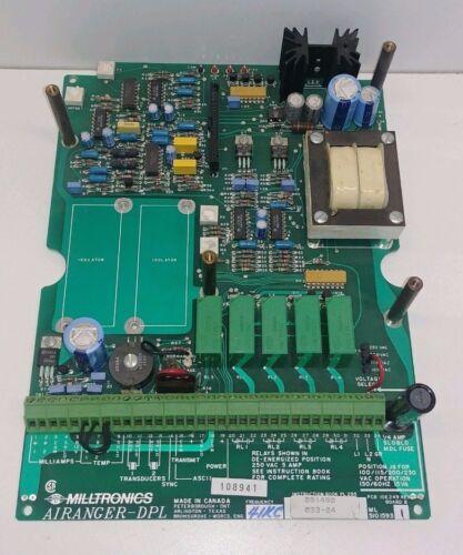 GUARANTEED GOOD MILLTRONICS AIRANGER-DPL CONTROL BOARD 510-1593-1 091490