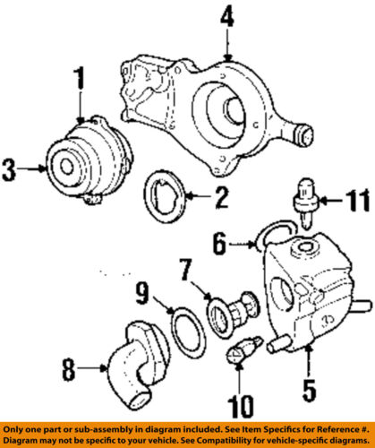 Ford Oem Water Pump Thermostat Housing O Ring W701379s300