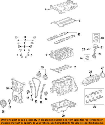 Chevrolet Gm OEM 13-15 Spark-Engine Cylinder Head Gasket 25187952 | eBay | Chevrolet Spark Engine Diagram |  | eBay