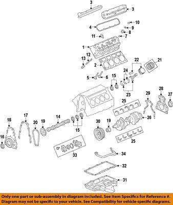 GM OEM-Engine Cylinder Head Gasket 12622033