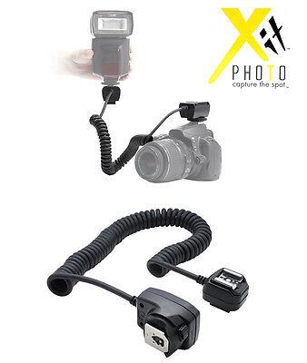 I-TTL Off Camera Shoe Flash Cord for Nikon SC-28 SC-29 D3200 D3100 D5100 D90