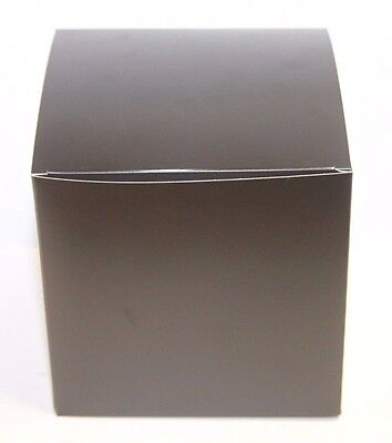 Lot Of 100 6x6x6 Gift Retail Shipping Packaging Boxes Black Light Cardboard