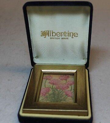 VINTAGE ALBERTINE BRITISH MADE MINIATURE PICTURE