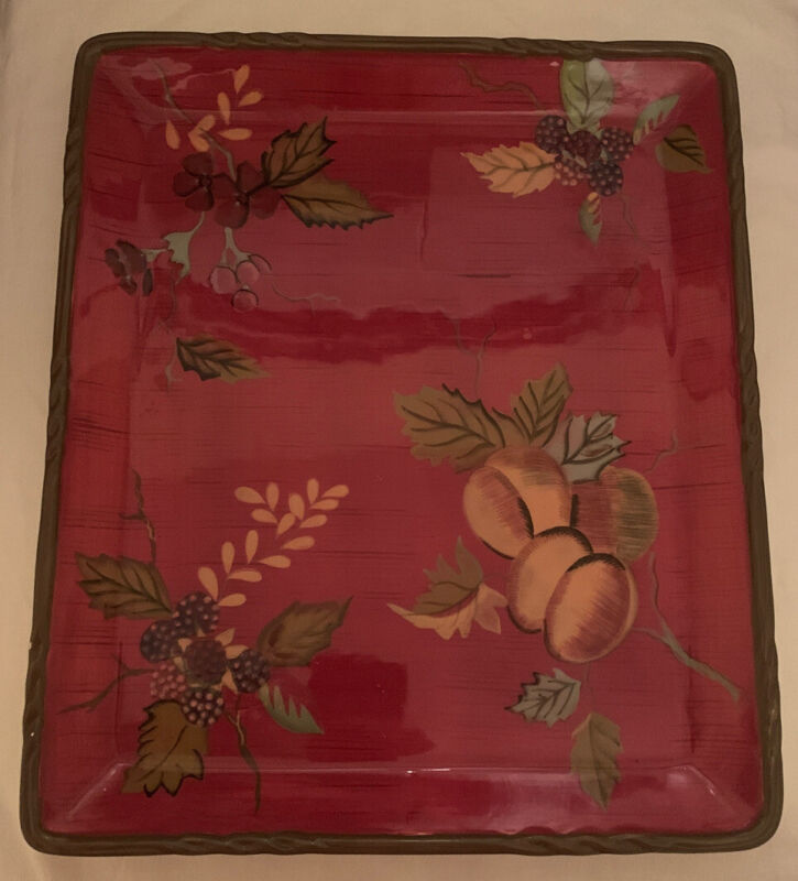 Tracy Porter Octavia Hill Collection serving tray platter 14