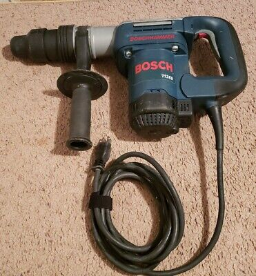 Bosch Demolition Hammer Mod 11388 Complete Kit Wcase Handle And 3 Sds-max Bits