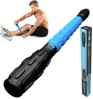 Muscle Roller Leg Massager - Best Massage Stick for Athletes - Deep Tissue -... (Best Leg Roller Stick)