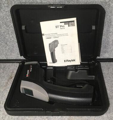 Raytek Raynger St Infrared Thermometer Noncontact Laser