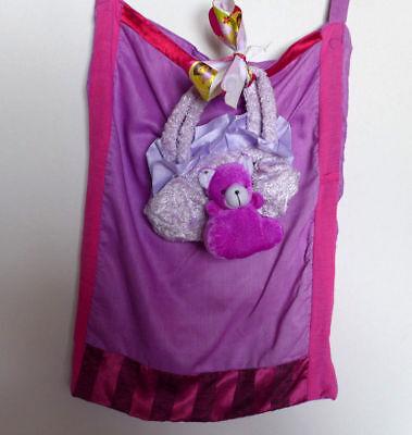 Mädchen gesteppte Tasche handgefertigte Baumwollstoffe Geldbörse Pinks +... - Mädchen Gesteppte Geldbörse