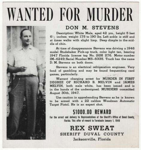 WANTED for the Murder of Meyer Lansky and Frank Costello Gambling Partner MAFIA