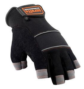 Scruffs FINGERLESS Max Performance Gloves - Safety Work Glove - T50991