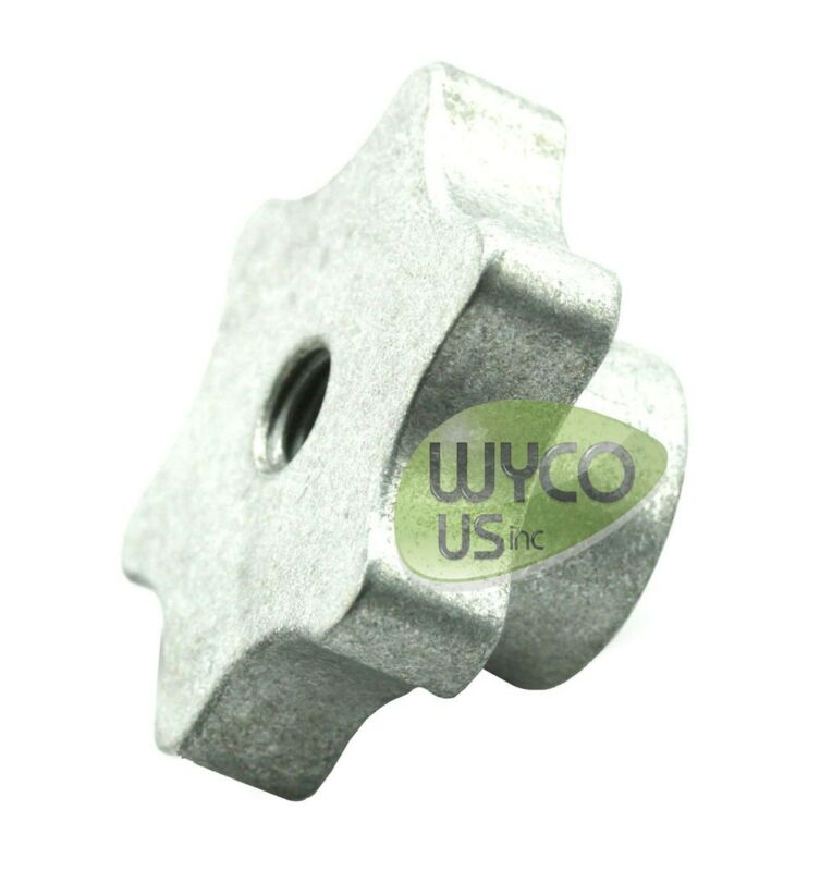 """SQUEEGEE KNOB, 3/8""""-16, GREAT FOR FLOOR SCRUBBERS AND OTHER APPLICATIONS, FAST"""